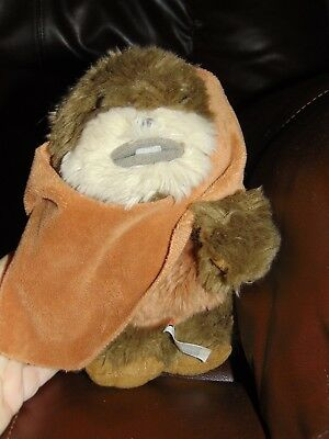 Disney Parks Star Wars  Ewok Wicket W. Warrick Plush 9""