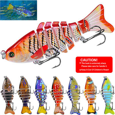 Minnow Fishing Lures Crankbaits Crank Bait Hooks Bass Swimbaits Tackle Sinking