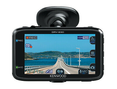 Kenwood DRV-830 - Full-HD-Dashcam mit GPS