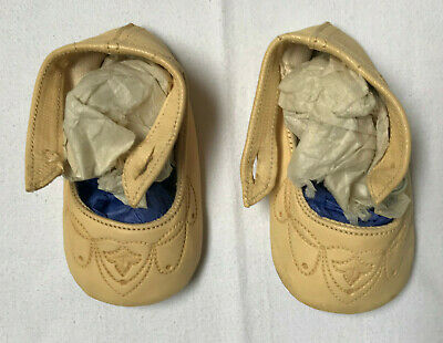Antique Vintage Christening Baby Shoes