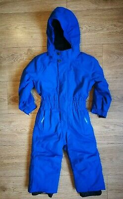 GREAT CONDITION Boys Blue All In One Snowsuit Skisuit 2-3 Years -RRP £79