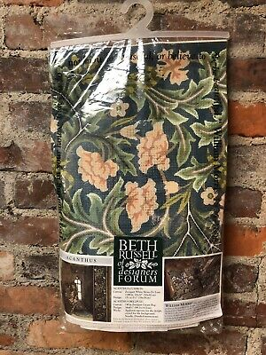 Beth Russell Needlepoint Kit William Morris Acanthus Cushion Complete