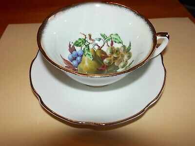 Royal Grafton  Tea Cup And Saucer Mixed Fruit      Unboxed Used