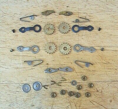 Genuine Smiths Enfield Clock Ratchet Wheels, Click, Click Springs & Brackets