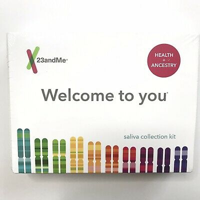 Brand New 23andMe Health + Ancestry DNA Test Kit PREPAID Lab Fee Included 2021+