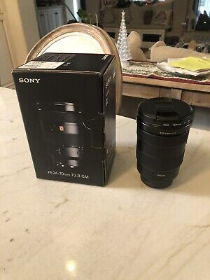 Sony FE24-70mm F2.8 GM Lens