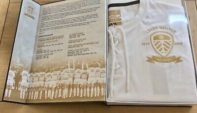 Leeds United Limited Edition Centenary Football Shirt and Book 1919