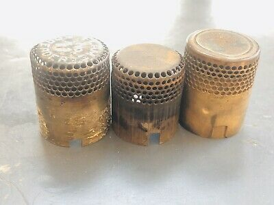 Aladdin? and Unmarked Oil Lamp Flame spreader Lot of 3 for Parts Repair
