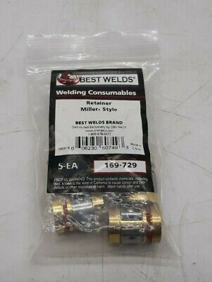 Best Welds 169-729 Retainer Miller® Style Pack of 5