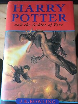 Rare Error 1st Edition Pg 503- Harry Potter and the Goblet of Fire. J.K. Rowling