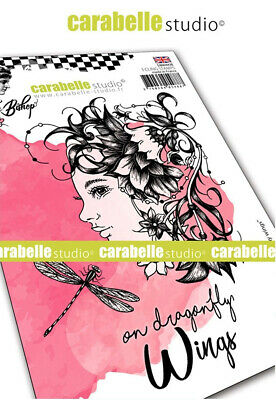 "Einhorn Stempel /""Mystique Beauty by Jen Bishop/"" Carabelle Studio artStamp"