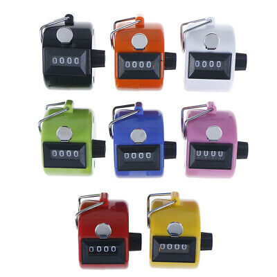 1pc 4 Digit Number Manual Tally Counter Digital Golf Clicker Training CountULUK