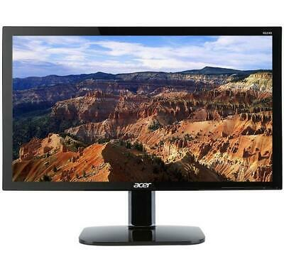 "Acer 24"" Widescreen LCD Monitor Display Full HD 1920 x 1080 1 ms 