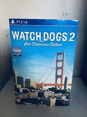 WATCH DOGS 2 SAN FRANCISCO statue Collectors EDITION PLAYSTATION 4 PS4