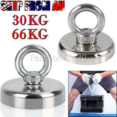 66KG 30KG Recovery Magnet Hook Strong Sea Fishing Diving Treasure Hunting