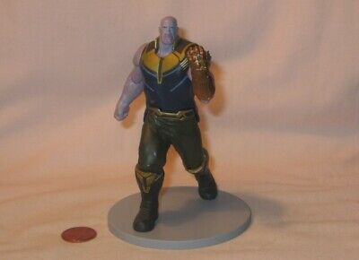 Thanos PVC Figure From Disney Marvel Avengers Infinity War Deluxe Playset
