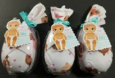 Lot of 3 BABY BORN SURPRISE Series 2 Baby Doll Blind Pack by MGA NEW