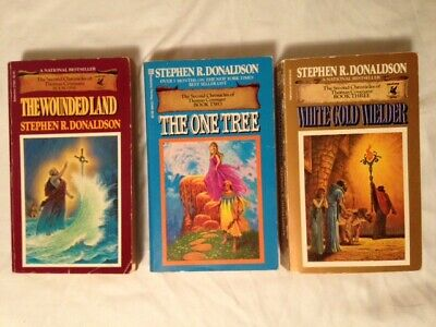 (Lot of 3) Wounded Land/The One Tree/White Gold Welder - Stephen R. Donaldson (U