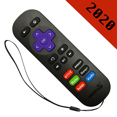 NEW Tech Remote Fit for ROKU 1/ 2/ 4 LT HD XD XS Express+ Premiere+ Ultra