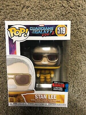 Funko Pop Stan Lee #519 Marvel NYCC Shared Exclusive *BOX DAMAGE* IN HAND! (3/3)