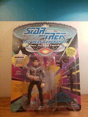 1992 Star Trek The Next Generation Romulan Playmates Action Figure Brand New!!