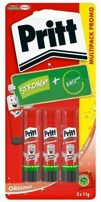 Pritt Colla Stick 11G 3Pz - Blister