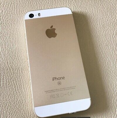 Apple iPhone SE 64GB Smartphone - Gold (Unlocked) Mint Condition