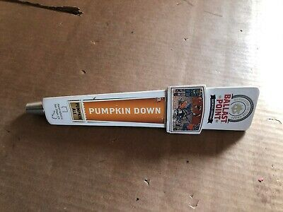 Ballast Point Brewing Co Pumpkin Down Ale Beer Tap Handle