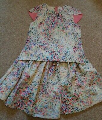 No Added Sugar Watercolour Gloria Skirt Shrug Top bundle 11-12 RRP £112  BNWOT