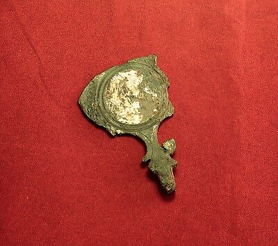 Ancient Roman Bronze Mirror, Rare!