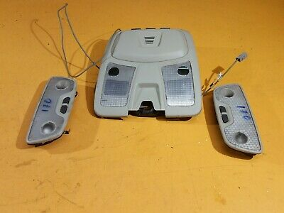 Volvo Xc90 Mk1 2004 F/Lift - Interior Reading Lights Set 30669623 Beige