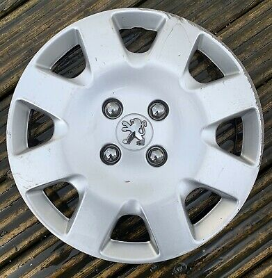 """FREE GIFT #E SET OF 4 14/"""" WHEEL TRIMS TO FIT PEUGEOT 106 107"""