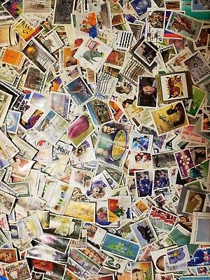 Canada 200 different stamps off paper large and small early-recent  #9