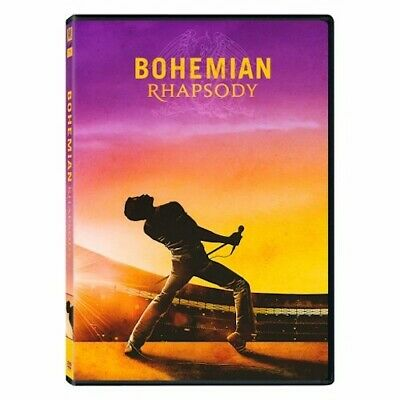 Bohemian Rhapsody (DVD, 2019) New & Sealed Free Shipping Included