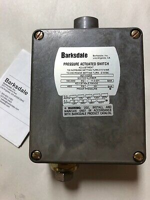 Barksdale B2T-H32SS Pressure Switch 160-3200PSI