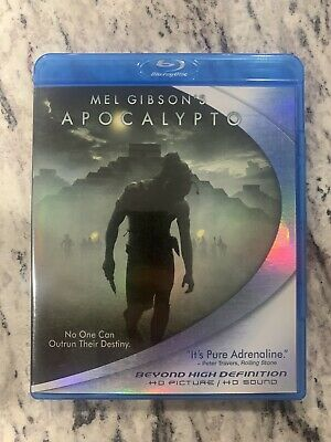 Apocalypto (Blu-ray Disc, 2007) Mel Gibson- Like New Condition