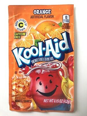 Kool-Aid Drink Mix - ORANGE x3 Sachets - Imported from USA