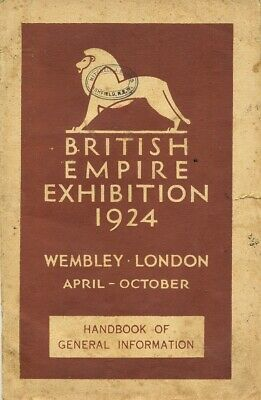 Handbook - British Empire Exhibition - Wembley London 1924