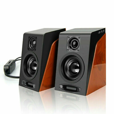 Restoring Ancient Ways Desktop Computer PC Speakers Multimedia Stereo Sound USB