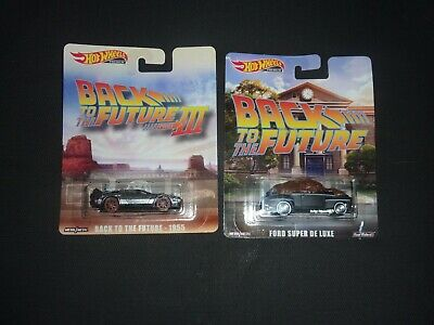 hot wheels back to the future 1955 And Ford Super De Luxe Lot Of 2