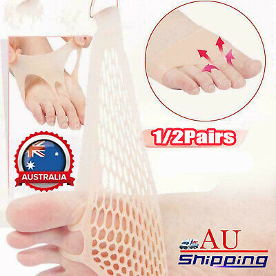 Silicone Honeycomb Forefoot Pad Foot Versatile Use Reusable Pain Relief AU STOCK