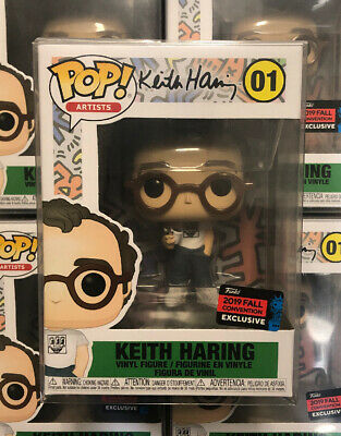 Funko Pop! ARTIST: Keith Haring 2019 NYCC Shared Sticker Exclusive +PROTECTOR