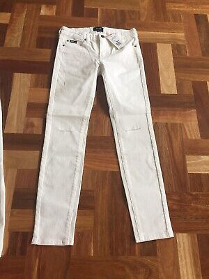 Brand New Bardot's Best Selling Jeans Ivory Size 10 Childrens