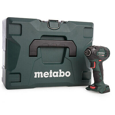 Metabo SSD18LTX 200BL 18v Li-Ion Cordless Impact Driver With Case 602396840