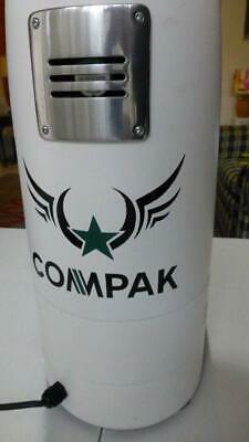 Compak F10, white, commercial grinder, as new