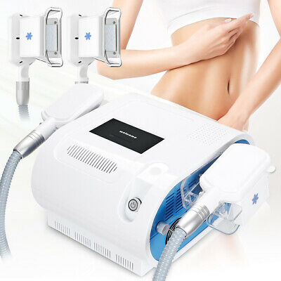 Double Handle Cooling liposuction Fat Freeze Cold Body Slimming Machine Spa M