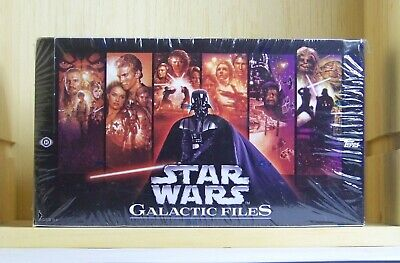 2012 Star Wars Galactic Files series 1 sealed Hobby trading card box. Sketch