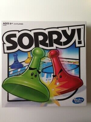 Sorry! Game Hasbro Family Board Games Nolstagic Tabletop Gameplay for Gamenight