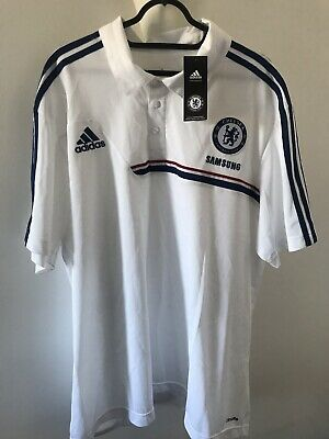 Chelsea Football Club Official Polo Shirt NEW BNWT Chest Size UK 54/56