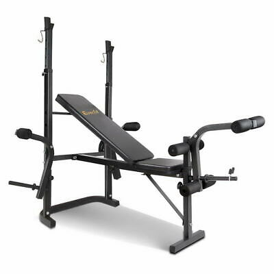 Everfit Multi-Station Weight Bench Press Home Gym Weights Equipment Incline Flat
